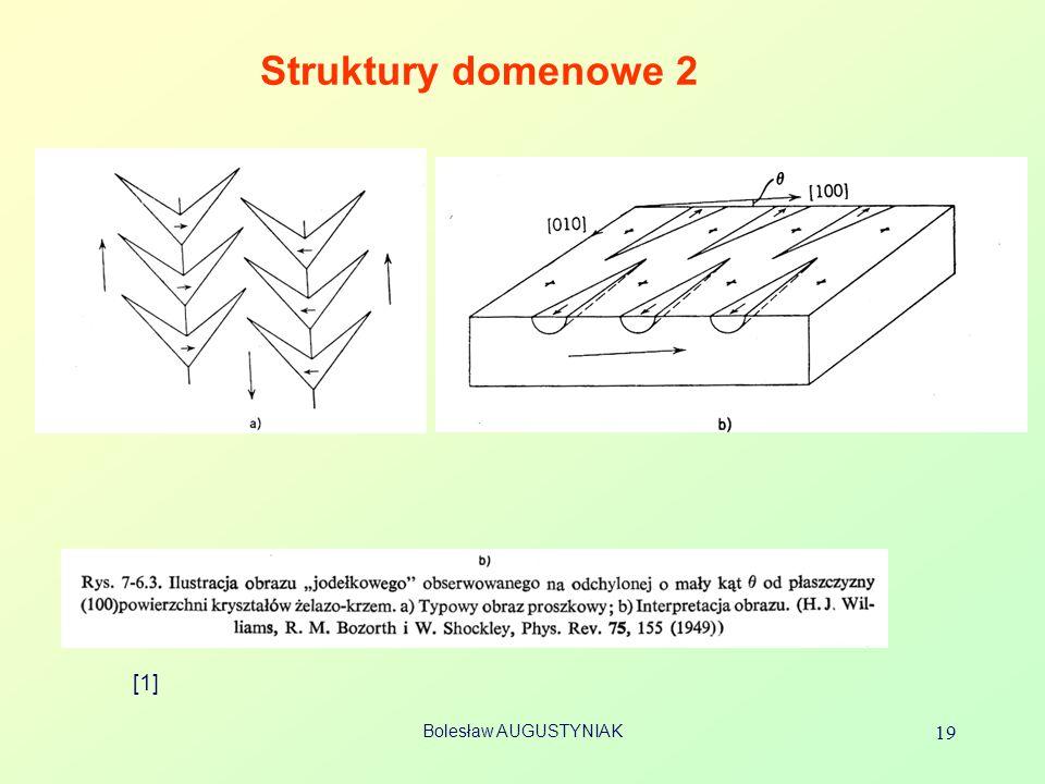 Struktury domenowe 2 [1] Bolesław AUGUSTYNIAK